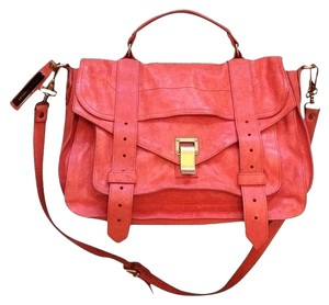 Proenza Schouler Satchel in Orange Grapefruit