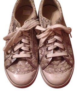 Authentic Coach sneakers White/silver Athletic