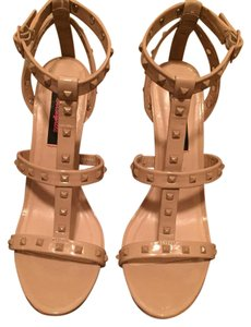 Betseyville by Betsey Johnson Nude Sandals