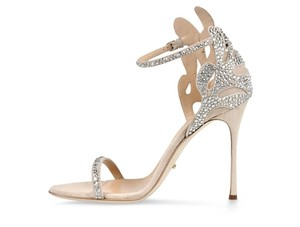 Sergio Rossi Swarovski Crystal Wedding Shoes