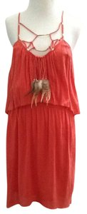 Rebecca Taylor short dress Coral Feather Beach on Tradesy