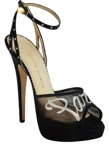 Charlotte Olympia Black with Paris in White Platforms