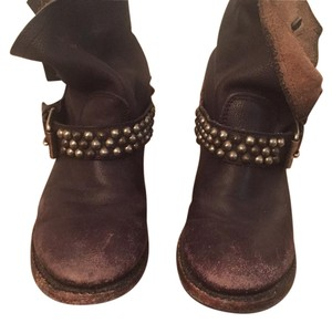 Ash Distressed black Boots