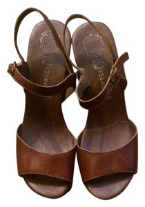 Jeffrey Campbell Platform Wedge Brown Platforms