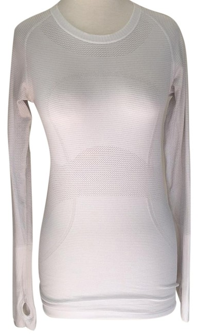 Item - White Swiftly Activewear Top Size 6 (S, 28)