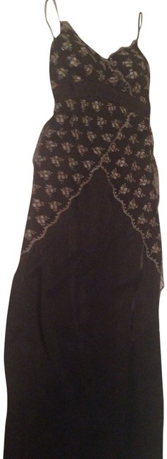 Preload https://item1.tradesy.com/images/other-dress-black-with-gold-and-silver-flowers-on-black-overlay-lace-1752730-0-1.jpg?width=400&height=650