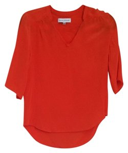 Amanda Uprichard Top Orange