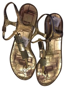 Dolce Vita Gold Sandals