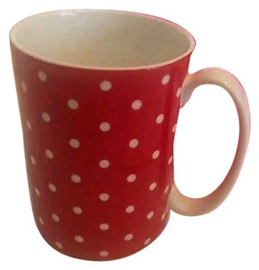 Kate Spade LIMITED EDITION Kate Spade Lenox Mug larabee dot red BRAND NEW IN RETAIL BOX