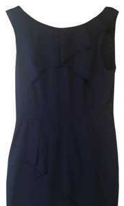 BCBGMAXAZRIA short dress Navy blue on Tradesy