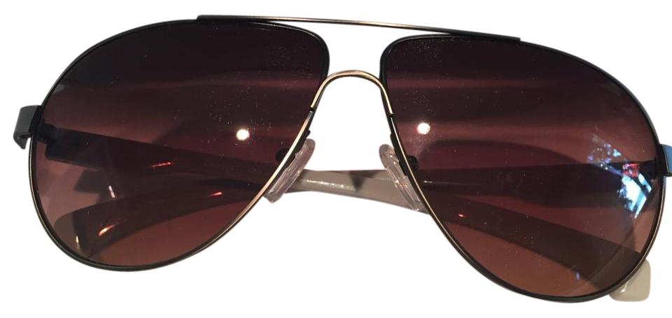 d42280d2f7537 Calvin Klein Collection Gray and Pink Arms Sunglasses - Tradesy