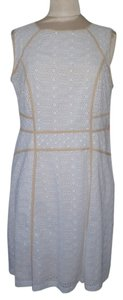 Tory Burch Eyelet Sleeveless Summer Dress