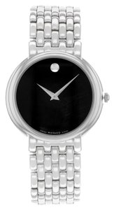 Movado Movado Certa 605613 Stainless Steel Quartz Ladies Watch (9739)
