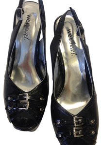 Wet Seal Slingbacks Black Pumps