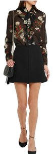 RED Valentino Nwt Mini Mini Skirt Black