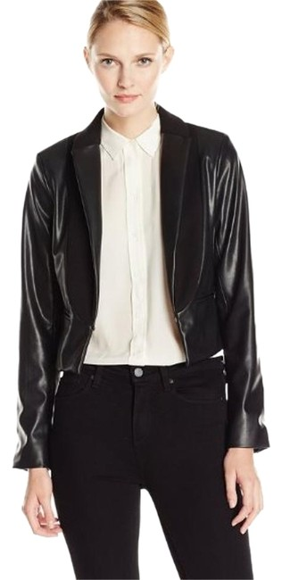 Preload https://item5.tradesy.com/images/adrianna-papell-black-new-women-s-cropped-corss-over-vegan-leather-jacket-size-6-s-17529229-0-1.jpg?width=400&height=650