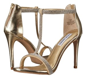 Steve Madden 6.5 Stiletto Gold Formal