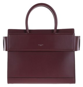 Givenchy Leather Tote in Oxblood