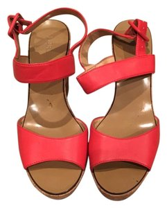 J.Crew Orange Wedges