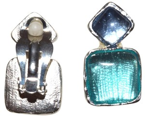Other Sterling Silver Pewter Tulip Shaped Clip On Earrings