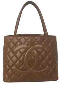 Chanel Tote in caramel