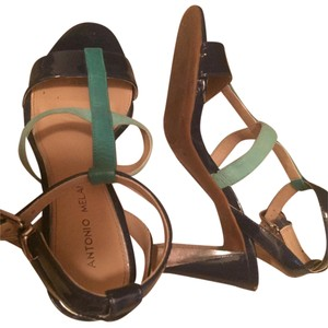 Antonio Melani Blue clear aqua Sandals