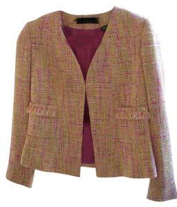 Dana Buchman Jeweled Button Jacket