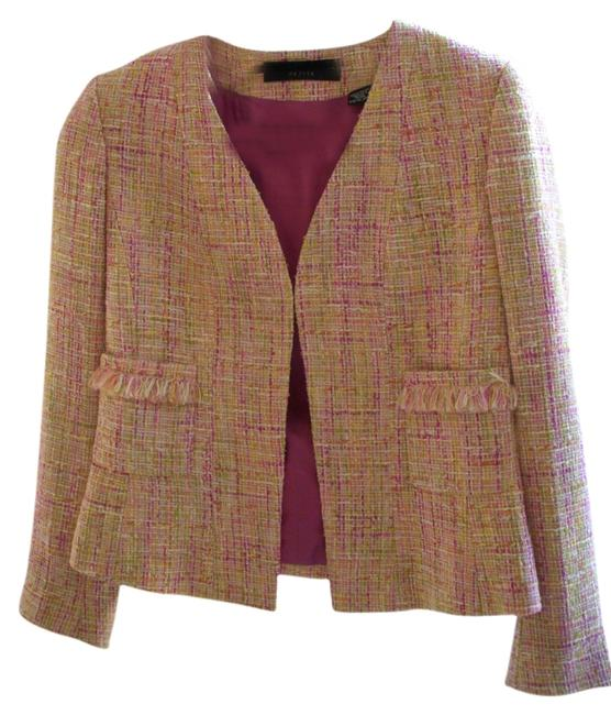 Dana Buchman Jeweled Button Palm Beach Jacket