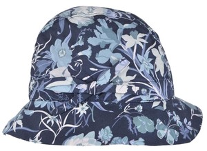 Gucci NEW Gucci Kids Girl's 372119 Flora Flora Canvas Bucket Fedora Hat L