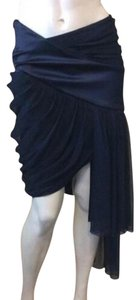 Prabal Gurung Mini Skirt Navy Blue