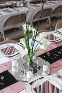 15 Centerpieces With Beautiful Real Touch Calla Lilies