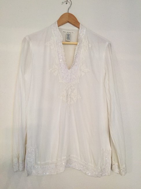 Preload https://item4.tradesy.com/images/polo-jean-co-tunic-white-1753178-0-0.jpg?width=400&height=650