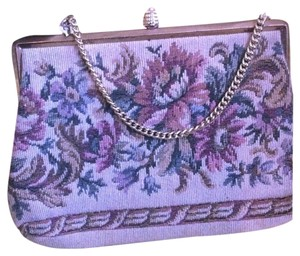 Vintage Verdi 60's Tapestry Evening Clutch