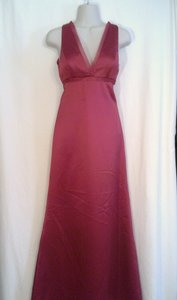 Dessy Red Formal Bridesmaid/Mob Dress Size 4 (S)