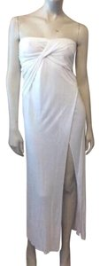 White Maxi Dress by Helmut Lang