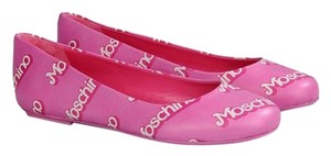 Moschino Barbie Pink Flats