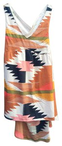 Billabong short dress Multi Tribal Print on Tradesy