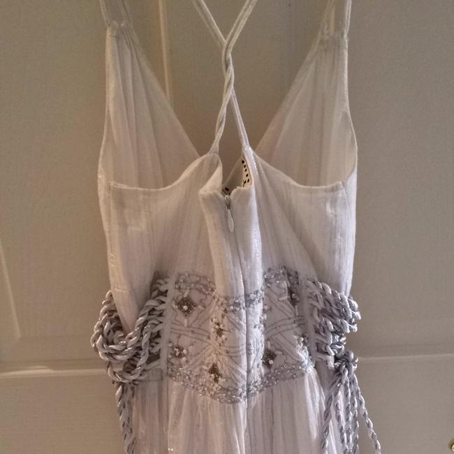 white/silver Maxi Dress by Ice