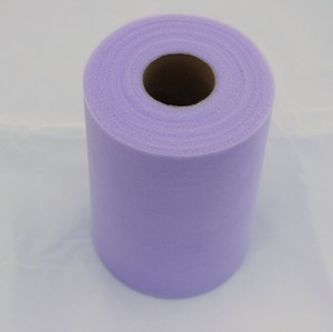 Lavender Tulle Huge Roll - 100 Yd X 6 In Lavender Tulle Spool - Tulle Roll Free Ship