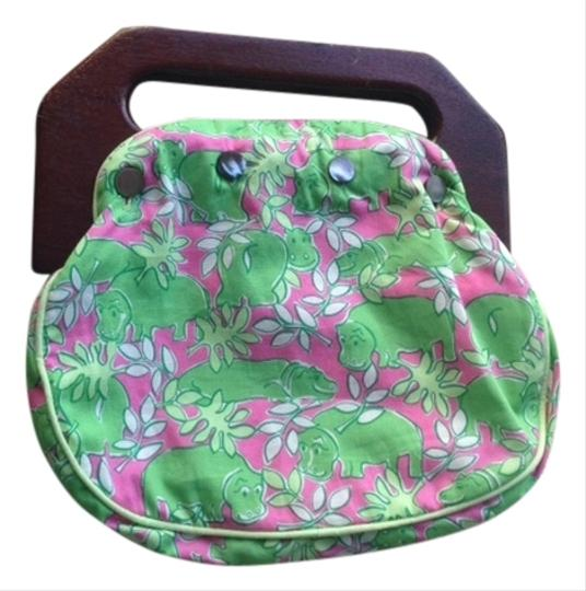 Lilly Pulitzer Multi colored bright Lilly Pulitzer print Clutch