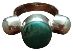 9.2.5 Turquoise & Pearl Sterling Silver Ring