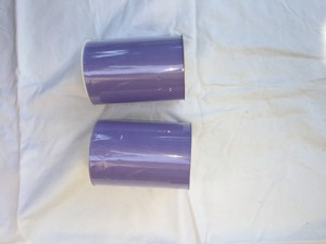 Two Rolls Of 6 In X 100 Yards Lavender Tulle.