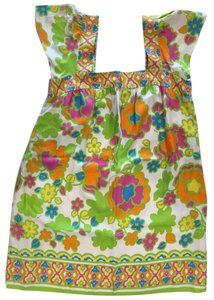 MILLY short dress Multi/Print Pockets Summer Printed Shift Retro on Tradesy
