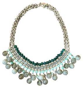 Banana Republic Beaded Bib Necklace