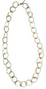 Kenneth Cole Antique Gold Chain Necklace