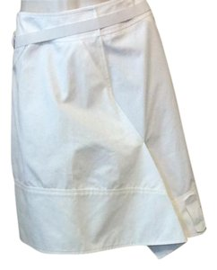 Jil Sander Mini Skirt White