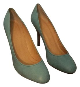 J.Crew Seafoam green Pumps