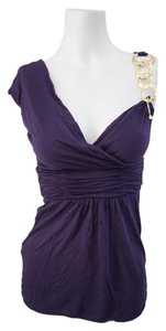 BCBGMAXAZRIA Bcbg Max Azria Top Purple