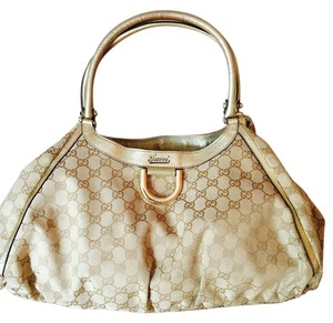 d92868785bc Guccissima Small D-ring 220933 Ivory Leather Hobo Bag.  257.52  1