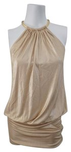 Laundry by Shelli Segal Tunic Trim Top Gold